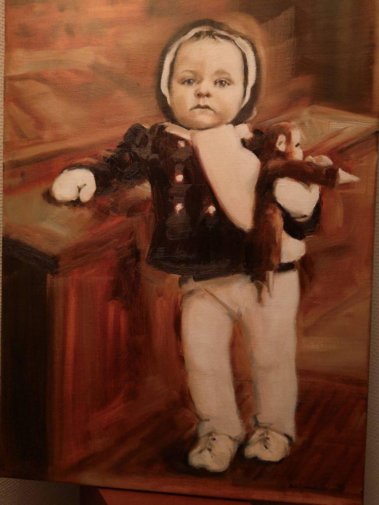 Bokerde, oilcolor, 70x50 cm